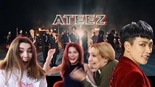 ATEEZ (에이티즈)   WONDERLAND |ОТВАЛ ВСЕГО|RUSSIAN REACTION MV  By OmeLoud