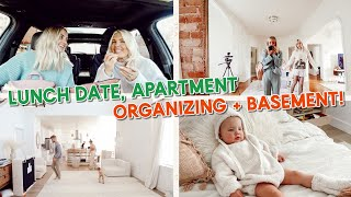 seeing my sister's new apartment, basement update & organizing! by Aspyn + Parker