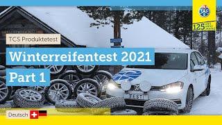 TCS-Test: Winterreifen 2021 - Teil 1