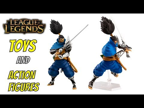 LEAGUE OF LEGENDS ACTION FIGURES LOL TOYS RIOT GAMES