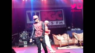 """August Alsina Performing """"Ghetto"""" Live @ FSO"""