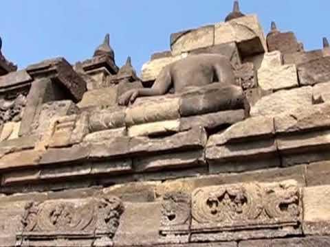 Borobudur Temple , East Java Indonesia -HD
