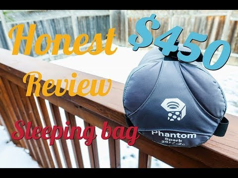 HONEST Review on Mountain Hardwear Phantom Spark -2C/28F Sleeping Bag