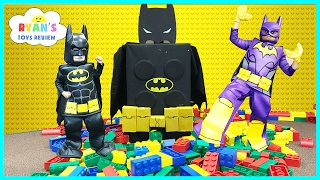 THE LEGO BATMAN MOVIE GIANT SURPRISE TOYS Collection! Biggest Surprise Egg Opening Lego Stop Motion