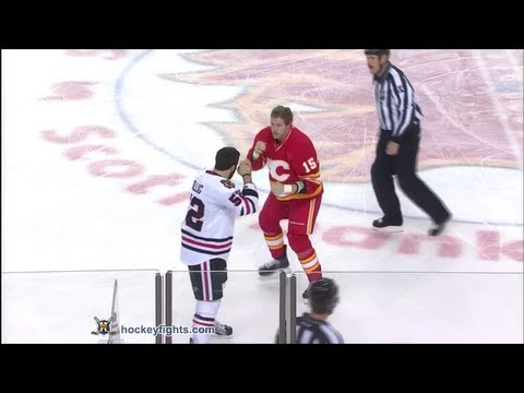 Tim Jackman vs. Brandon Bollig