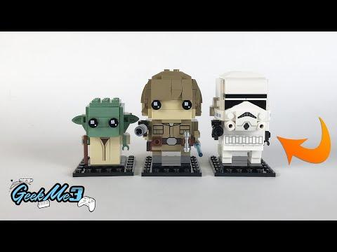 Vidéo LEGO BrickHeadz 41620 : Stormtrooper (Star Wars)