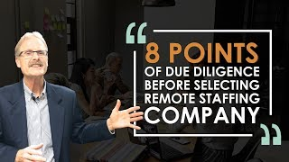 HOW TO LOOK FOR REMOTE STAFFING COMPANY | MIKE GOOSSEN