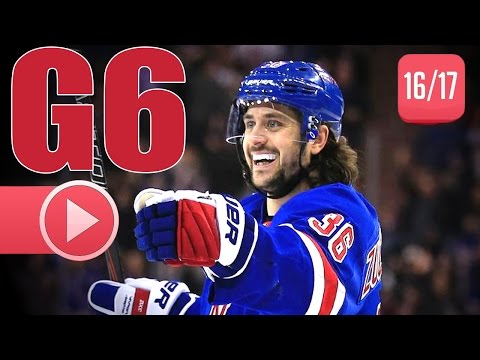 Montreal Canadiens vs New York Rangers. 2017 NHL Playoffs. Round 1. Game 6. April 22nd, 2017. (HD)