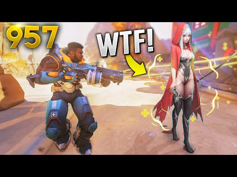 Overwatch Daily Moments Ep.957 (Funny and Random Moments)