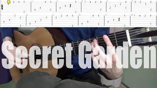 Rolf Lovland - Song from a Secret Garden - Гитара (+ табы)
