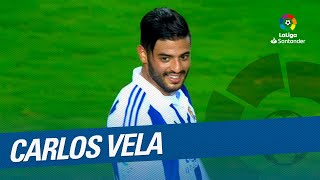 TOP 25 GOALS Carlos Vela in LaLiga Santander