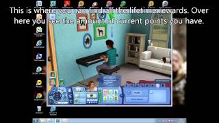 Sims 3: How to get free Lifetime Rewards? (Cheat)