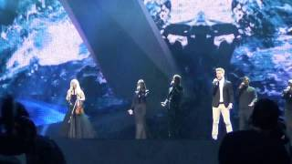 "Eurovision 2012 Iceland 1st rehearsal Greta Saome & Jonsi ""Never Forget"""