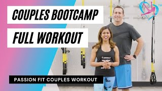 Passion Fit Couples Bootcamp Workout - Full Video