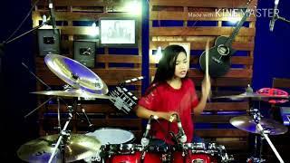 DJ Aisyah Jatuh Cinta Pada Jamillah Drum Cover:Ghoits Channel