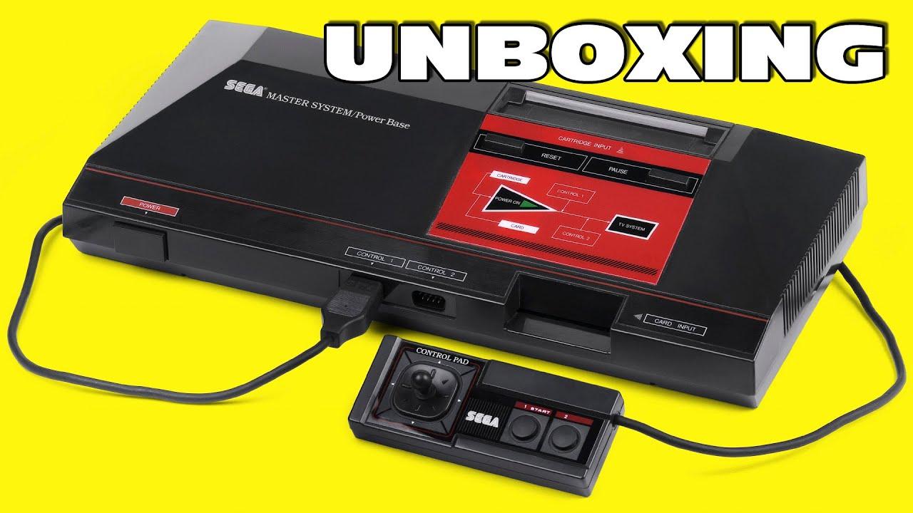 Unboxing A…1986 Sega Master System