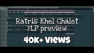 Ratris Khel Chale - Theme Music - ( FLP PREVIEW ) - H2O Production
