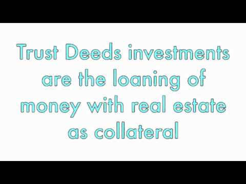 What is a Trust Deed
