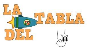 La Tabla del 5 - Tablas de Multiplicar - Vídeos educativos para Niñosy Bebés - Paty y Poty