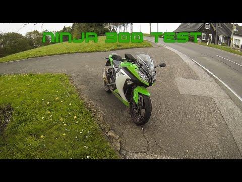 Kawasaki Ninja 300 Test