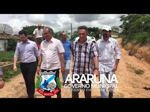 Prefeito Vital Costa visita Fazenda Maquiné em Araruna
