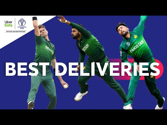 UberEats Best Deliveries of the Day | New Zealand vs Pakistan | ICC Cricket World Cup 2019
