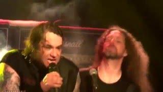 "Exodus en Chile ""Metal command"" + ""Piranha"" (30/01/16) Santiago, Kmasu Premiere"