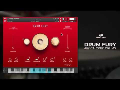 DRUM FURY - Sample Logic LLC