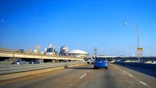 Road Trip #125 - I-10 East - Mile 206, LaPlace to Exit 234, New Orleans, Louisiana