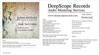 Joseph Anthony Ricciardo - Know That I Know (Music, Credits and Lyrics)