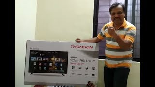 Unboxing Thomson Smart LED TV 40''