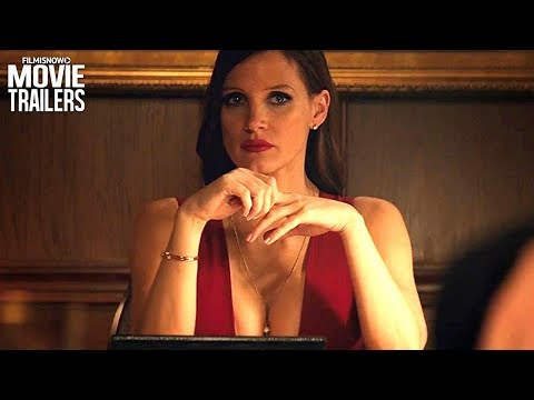 MOLLY'S GAME ft. Jessica Chastain | Supercut - ALL Clips, Trailers, featurettes