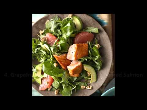 Video Healthy dinner recipes for week. 7 Days of Super Healthy Dinners.