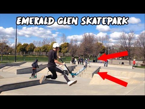 EMERALD GLEN SKATEPARK!!!