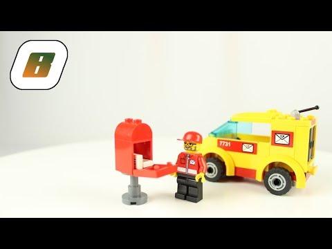 Vidéo LEGO City 7731 : La camionnette du facteur