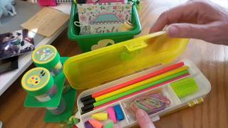 Adorable Dollar Tree Craft Survival Kits For Camping Girl Scouts