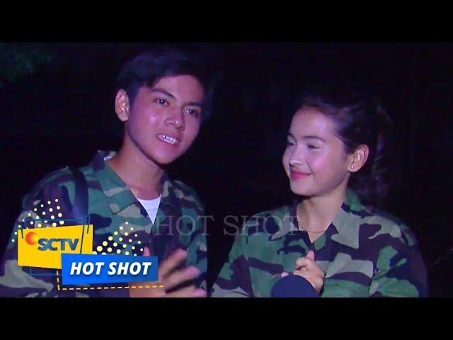 Bentuk Perhatian Rey Bong Terhadap Sandrinna Michelle di Lokasi Syuting - Hot Shot
