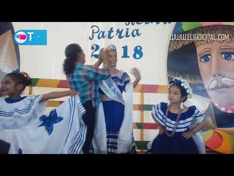 Masaya elige a su reina patria 2018