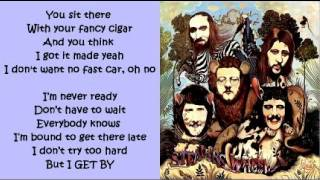 Stealers Wheel - I Get By ( + lyrics 1972)