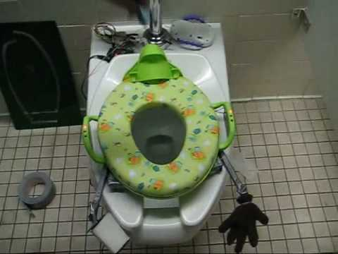 Interactive Toilet Scares Kids into Pooping, Hopefully Not in Their Pants