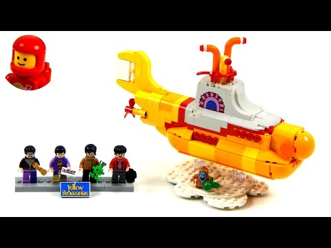 Vidéo LEGO Ideas 21306 : The Beatles Yellow Submarine