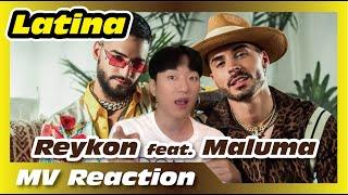 [KoreanReaction] Reykon   Latina (feat. Maluma)[Video Oficial]