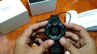 No.1 F7 Smartwatch Features and Menus