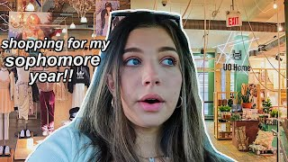 BACK TO SCHOOL CLOTHES SHOPPING!! VLOG