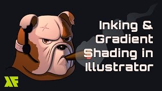 Gradient Shading And Inking In Illustrator Tutorial