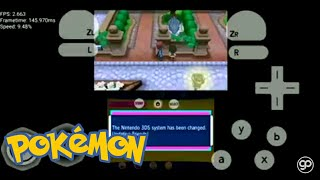anuncio; How To Download Pokemon X 3ds With 3dse Emulator Working