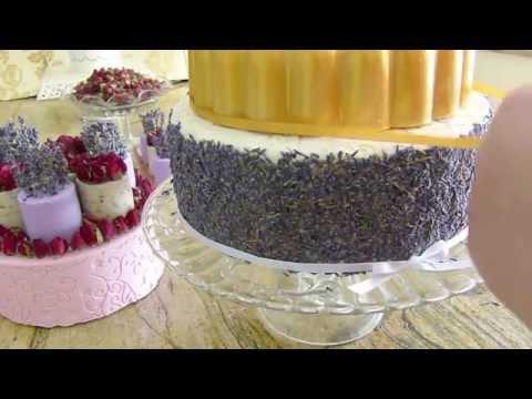 Edens Secret Rose & Lavender Wedding Soap Cake