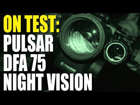 On test: Pulsar DFA 75 night vision