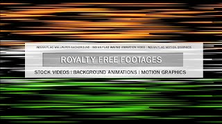 Indian flag waving animation video, Indian flag animation no copyright, India tricolor flag animated