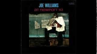In the Evenin' ( When the Sun Goes Down)  JOE WILLIAMS